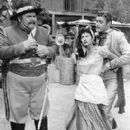 Guy Williams with Barbara Luna in Zorro