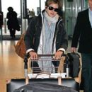 Emma Watson was spotted at Heathrow airport in London , (March 3)