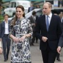 The Duke And Duchess Of Cambridge : RHS Chelsea Flower Show 2019 - Press Day - 380 x 600