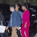 Priyanka Chopra and Nick Jonas at Nobu Restaurant in Malibu