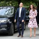 Catherine, Duchess of Cambridge and Prince William Duke of Cambridge visit the London Eye