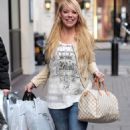Liz McClarnon - the Mayfair Hotel in London, 17.02.2011
