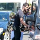 Taylor Lautner and his girlfriend  were seen leaving Fred Segal in West Hollywood, California on March 23, 2017 - 416 x 600