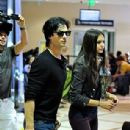 Ian Somerhalder and Nina Dobrev Departs from LAX Airport with the rest of TVD (September 10)