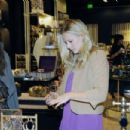 Kristen Bell Shopping - Henri Bendel At The Beverly Center In LA, November 18 2009