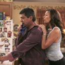 George Lopez and Constance Marie