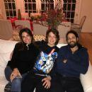 Luciana Gimenez, Lucas Jagger and Marco Antônio Gimenez - December/2016 - 454 x 454