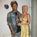 Amber Rose and Wiz Khalifa Attend Kevin Hart's