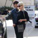 Nicola Peltz in Black Shopping in Beverly Hills