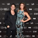 Nia Sanchez and Daniel Booko- 2016 Miss USA Competition- Arrivals - 423 x 600