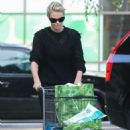 Charlize Theron – Shopping at Bristol Farms in Hollywood - 454 x 682