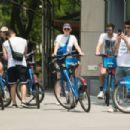 Sophie Turner Priyanka Chopra Joe and Nick Jonas – Go for a ride on Citibikes in NYC