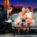 Kristin Chenoweth and Cobie Smulders – On 'The Late Late Show With James Corden' in LA - 454 x 303