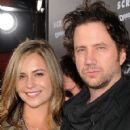 Nicolle Radzivil and Girlfriend Jamie Kennedy Scream 4 Premiere - 421 x 600