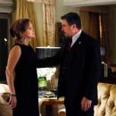Margaret Colin and Tom Selleck