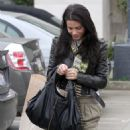 Jenna Dewan visits Naimie's Beauty Center in Studio City on December 29, 2010