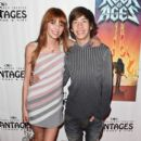 Shake It Up star, Bella Thorne and No Ordinary Family's Jimmy Bennet attended the opening night of Rock of Ages the musical at the Pantages Theater in Pasadena, California (February 15)