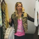 Ashley Tisdale: shops in Los Angeles