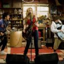(Left to right) TIM JO, ALYSON MICHALKA and CHARLIE SAXTON star in BANDSLAM. Photo Credit: Van Redin. © 2008 Summit Entertainment, LLC., and Walden Media, LLC. All rights reserved. - 454 x 303
