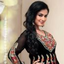 Sonal Chauhan Photo Shoot For An Indian Designer Anarkali Suits - 454 x 533