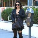 Vanessa Hudgens does some shopping in Studio City, California on February 5, 2014