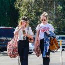 Lucy Hale – Out shopping in Studio City