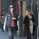 Meg Ryan and her son Jack Quaid out and about in New York City on October 04, 2015 - 427 x 600