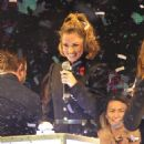 Cheryl Fernandez Versini Switches On The Oxford Street Christmas Lights In London