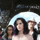 Katy Perry at the Eiffel Tower