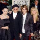 Steven Tyler and Teresa Barrick w/ Angelina Jolie and Billy Bob Thorton - 454 x 367