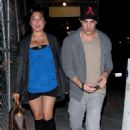 Leaving the Variety Sports Bar, on Thursday (May 12) in West Hollywood, Calif.