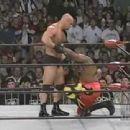 Steve as a wrestler