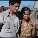 Sam Riley and Alice Braga