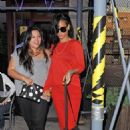 Rihanna: dinner with a friend at Da Silvano restaurant in New York City