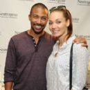 Actor Charles Michael Davis attends the HBO Luxury Lounge featuring PANDORA at Four Seasons Hotel Los Angeles at Beverly Hills on August 23, 2014 in Beverly Hills, California - 416 x 594