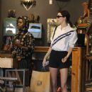 Kendall Jenner – Shopping for cowboyhats and boots at Boot Star in West Hollywood