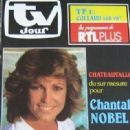 Chantal Nobel - TV Jour Magazine Cover [France] (30 January 1985)
