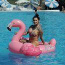 Jemma Lucy in Bikini in Portugal - 454 x 431