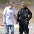 AnnaLynne McCord – Skydives for her charity Together1Heart in Santa Barbara - 454 x 644