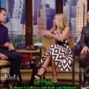 Henry Cavill Live With Kelly and Michael: Kelly Ripa and guest host, Howie Mandel, interview