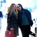 Michelle Hunziker and Aurora Ramazzotti – Out in Milan - 454 x 744
