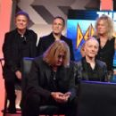 Joe Elliott of Def Leppard speaks during the press conference for THE STADIUM TOUR DEF LEPPARD - MOTLEY CRUE - POISON at SiriusXM Studios on December 04, 2019 in Los Angeles, California - 454 x 303