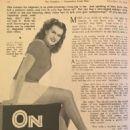 Janis Paige - The Photoplayer Magazine Pictorial [Australia] (10 November 1945) - 454 x 610