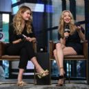 Amanda Seyfried and Lily James – Visit AOL Build Series in NYC - 454 x 445