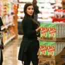 Kim Kardashian Shopping in Calabasas December 23,2013