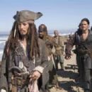 (L-R) JOHNNY DEPP, ORLANDO BLOOM Photo Credit: Stephen Vaughan © Disney Enterprises, Inc. All Rights Reserved.