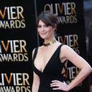 GEMMA ARTERTON at 2015 Oliver Awards in London