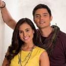 Dingdong Dantes and Isabelle Abiera