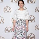 Keira Knightley attends the 26th Annual Producers Guild Of America Awards at the Hyatt Regency Century Plaza on January 24, 2015 in Los Angeles, California
