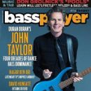 John Taylor - Bass Player Magazine Cover [United States] (October 2015)